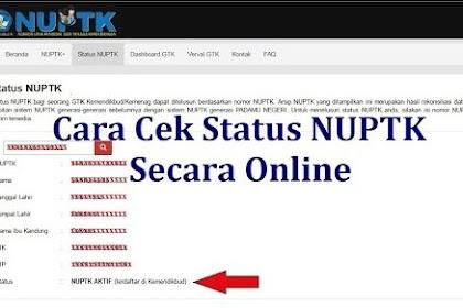 Download Cara Mendapatkan Dan Cek Data NUPTK Online 2018/2019