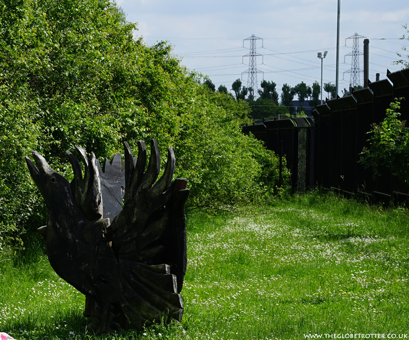 Murder of Crows - Lee Valley Sculpture Trail