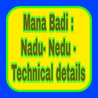 Mana Badi : Nadu- Nedu - Technical details