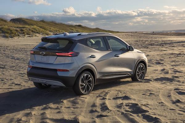 Chevrolet Bolt EUV 2022 apresentado