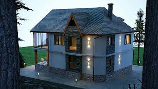Bentuk Atap Rumah Model Perisai