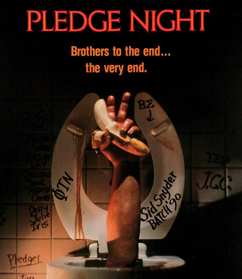 pledge night bluray