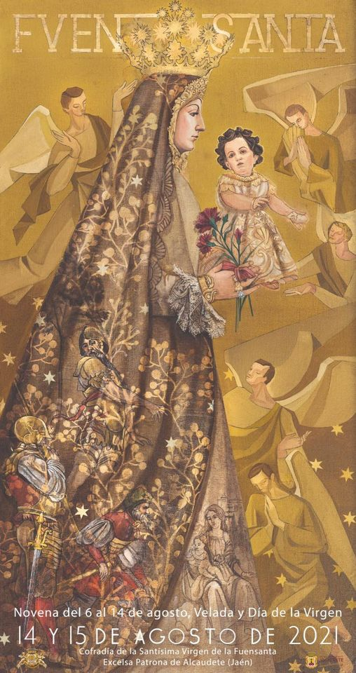Cartel de la Festividad de Virgen de la Fuensanta de Alcaudete 2021