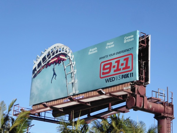 9-1-1 series launch billboard