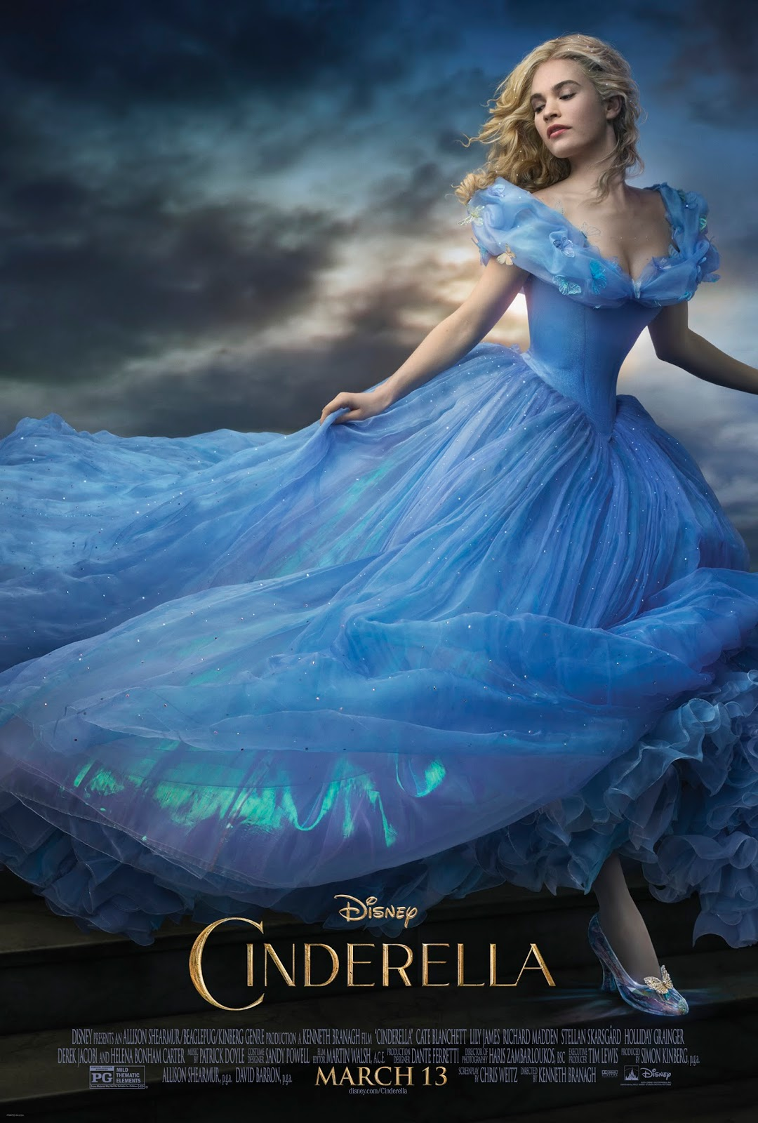 CINDERELLA live-action feature film inspired by the classic fairy tale.