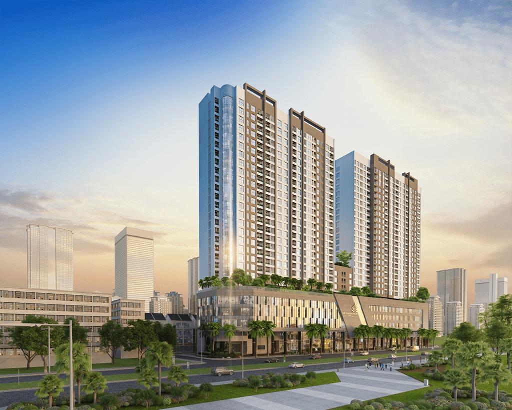 Phối cảnh dự án chung cư The Golden Palm Lê Văn Lương