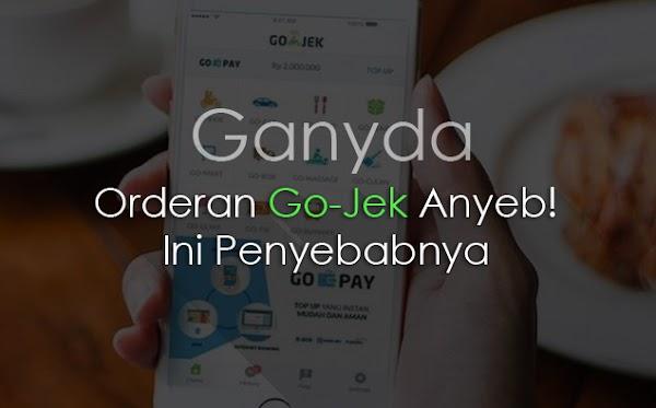 Keluhan Driver Gojek Orderan Jadi Anyeb, Ternyata Ini Penyebabnya dan Ini Solusinya!