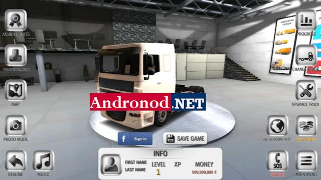 Euro Truck Driver v1.5.0 Mod Apk Terbaru (Unlimited Money)