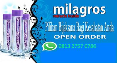 Air milagros Jakarta | Agen Besar Milagros Bekasi ((( 081327570786 )))