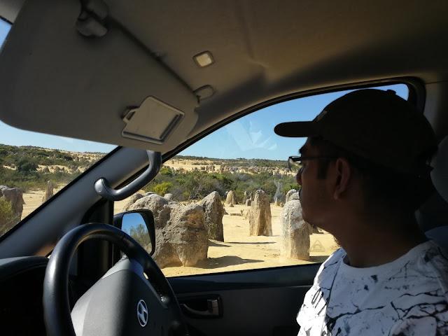 Memandu di Perth Australia
