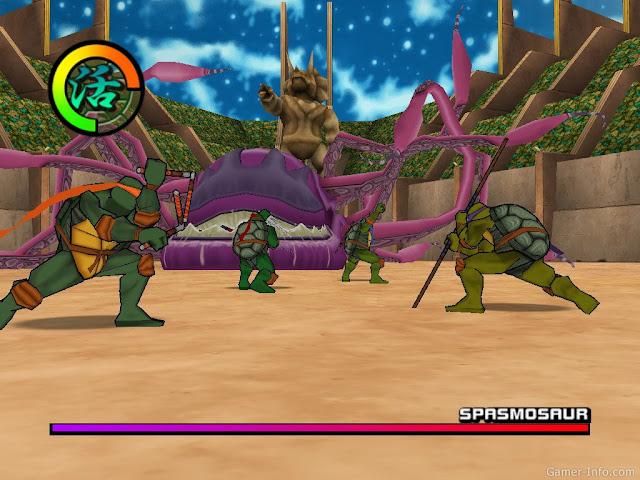تحميل لعبه سلاحف النينجا الجزء الثاني TMNT 2 Battle Nexus game