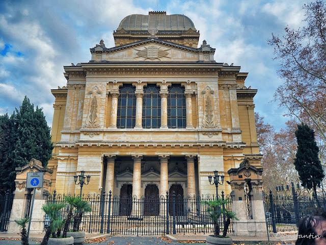 Roma - Jewish Ghetto - Sinagoga din Roma (1901-1904)