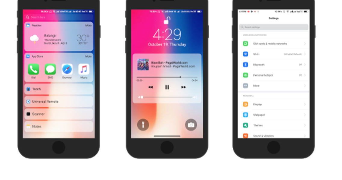 Download iOS 11 iPhone X Theme for any Xiaomi Mi Devices MIUI 8