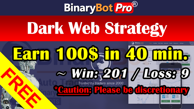 Dark Web Strategy (15-Jan-2021) | Binary Bot | Free Download
