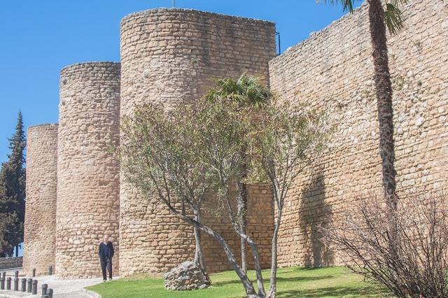 Puerta de Almocábar, em Ronda, na Andaluzia, região sul da Espanha.