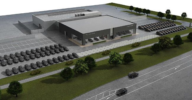 Land Rover Northfield >> Our Projects, Our Lives, Our News: Jaguar Land Rover dealership to open in Milton Keynes