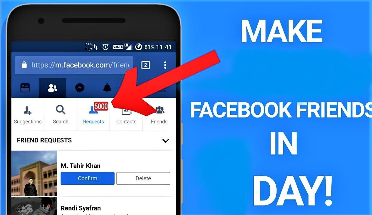 make more facebook friends in facbook