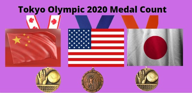 Tokyo Olympic 2020 Medal Count