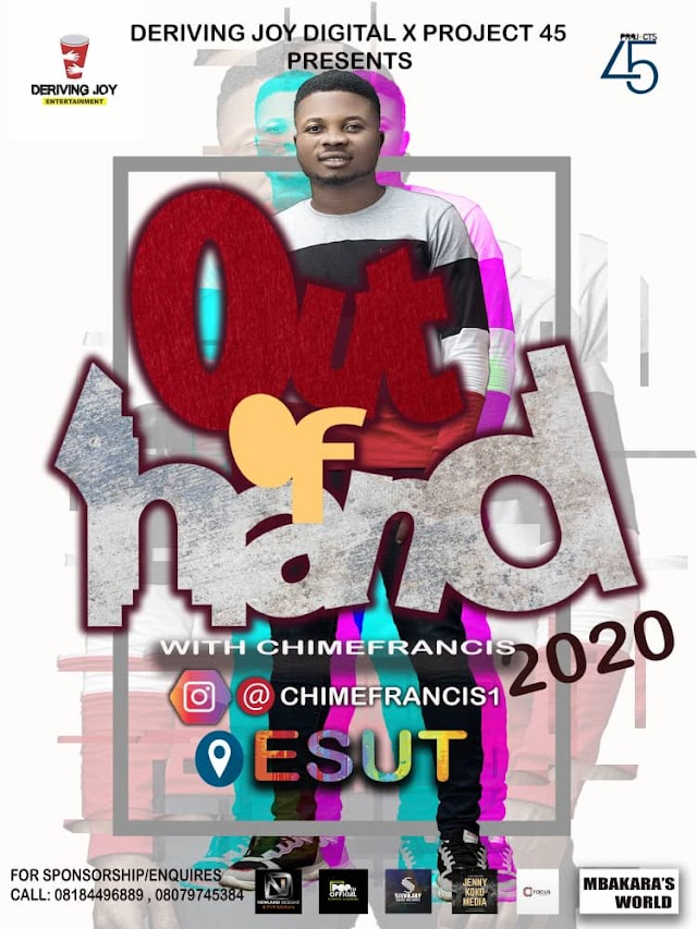OUT OF HAND: ESUT, 2020