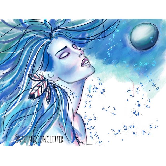 Sprinkle on Glitter Blog// Watercolor dreams