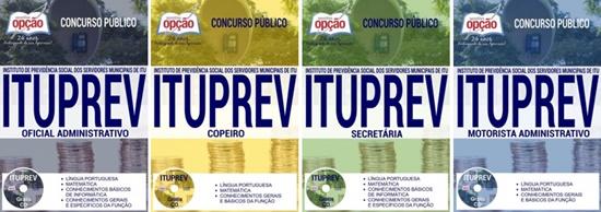 Apostila concurso ITUPREV SP 2017