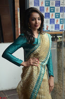 Tejaswi Madivada looks super cute in Saree at V care fund raising event COLORS ~  Exclusive 039.JPG