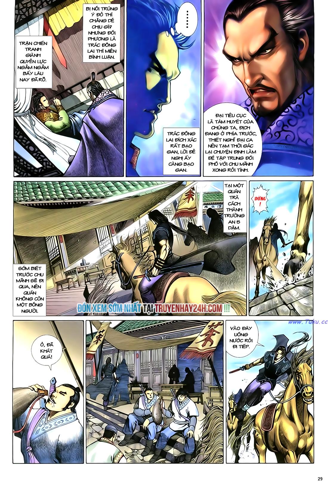Anh hùng vô lệ Chap 18 trang 30