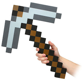 Minecraft ThinkGeek Foam Iron Pickaxe Gadget