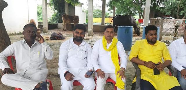 FB_IMG_1569236107190 सुनील पटेल जी भाजपा का दामन छोड़कर सुहेलदेव भारतीय समाज पार्टी का एक बार फिर दामन थामा ।