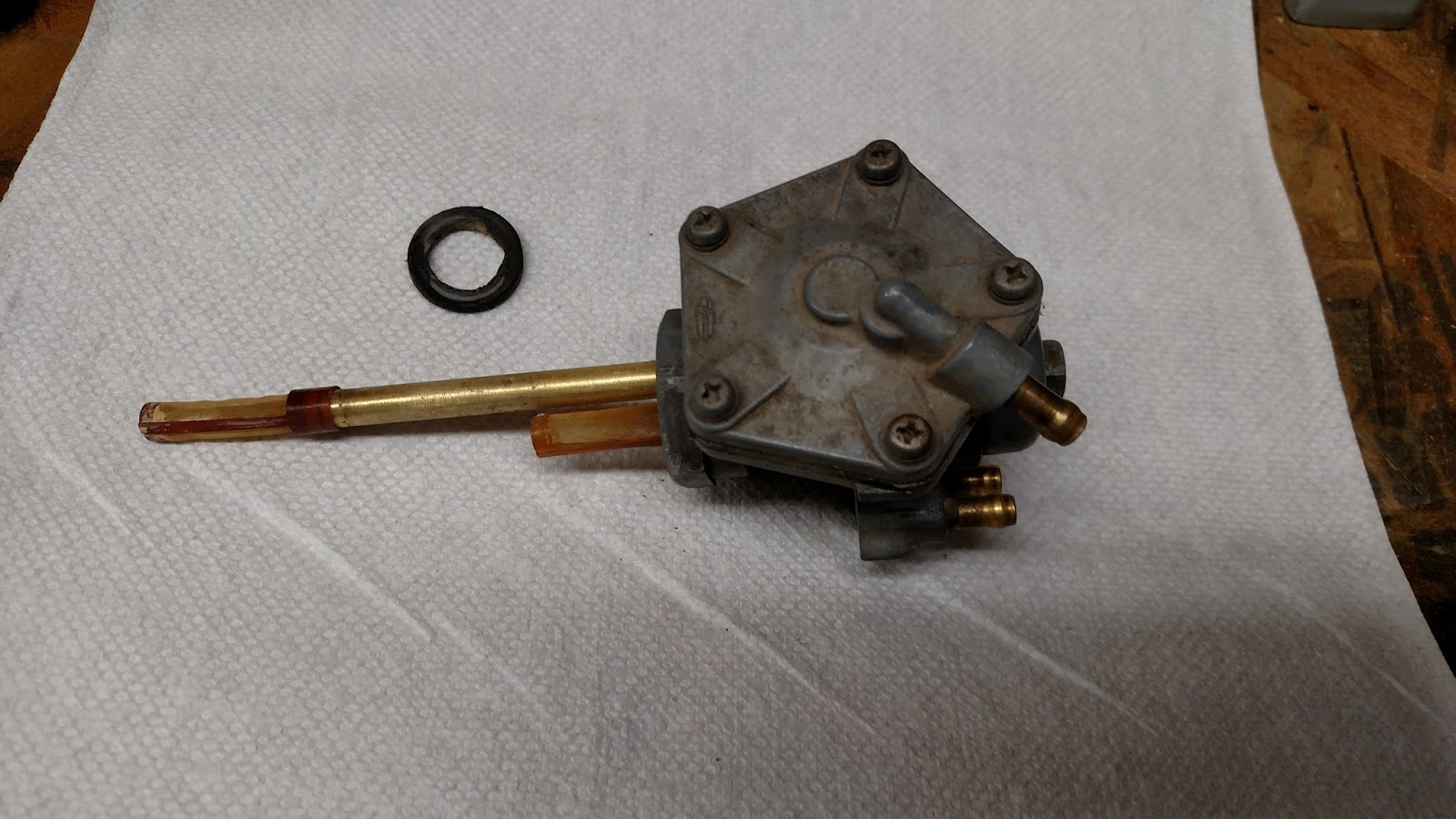 Spud's blog: KH500 Refurbishment - Fuel/Air System work