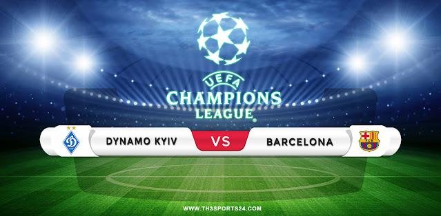 Dynamo Kyiv vs Barcelona Prediction & Match Preview