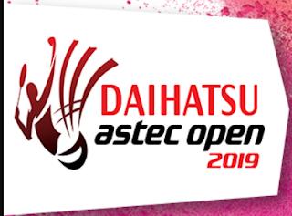 Jadwal Daihatsu Astec Open Junior 2019