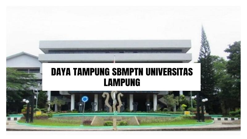 Daya Tampung SBMPTN UNILA 2021/2022 (Universitas Lampung)