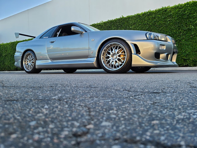 MotoRex R34 GT-R with C West Body Kit and Advan Siena Wheels