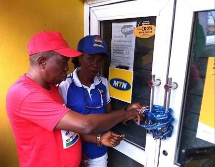 MTN Office Picketing By NLC Violated Global ILO Rule?