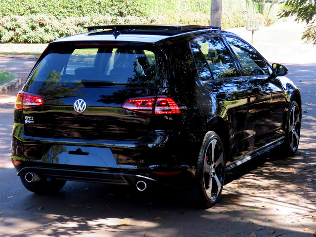 VW Golf GTI 2017 Preto