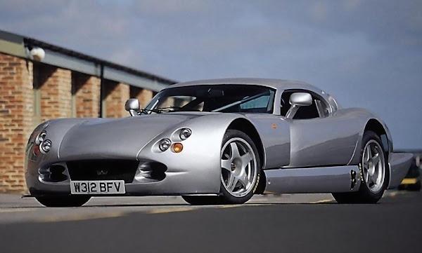 TVR Cerbera Speed 12 1990s British sports car