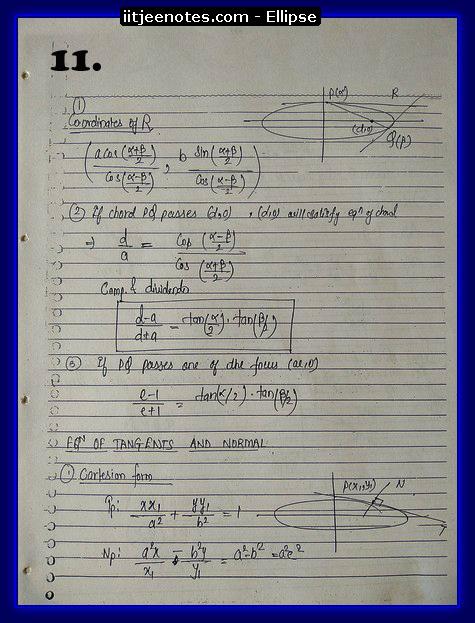 ellipse notes1