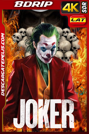 Joker (2019) 4K BDRip SDR Latino – Ingles