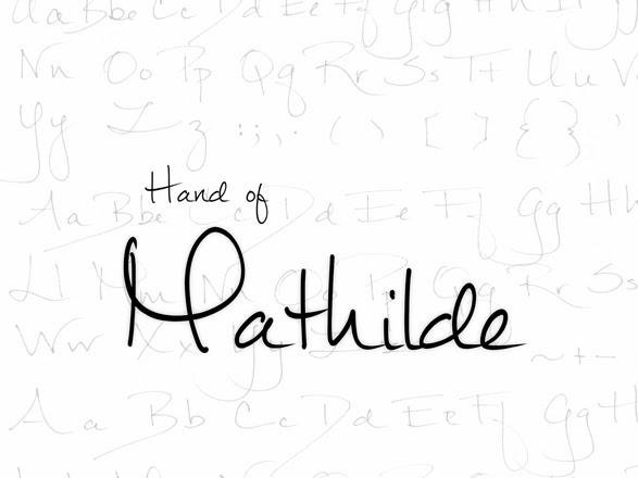 Mathilde Handwritten Script Font Free Download