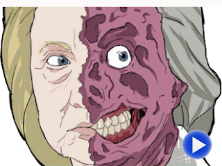 hillary two face