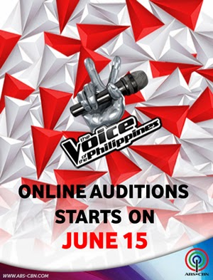 The Voice of the Philippines Season 2 opens Online auditions on June 15, 2014