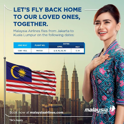 MAS Flight selection in April 2020