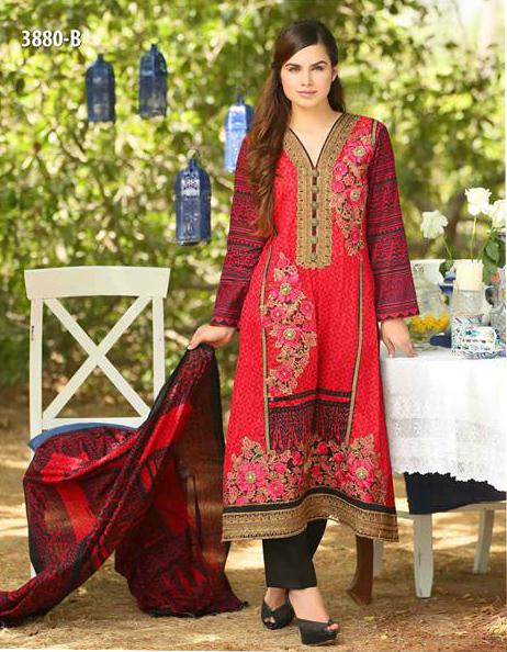 7004c5c25b ORIGINAL PAKISTANI BRANDS » TAWAKKAL FABRICS||TEND FASHION WOMEN DRESS