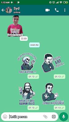 Cara Membuat Stiker Keren Sendiri Untuk WhatsApp Dengan Mudah