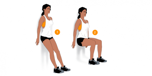 Wall-squats