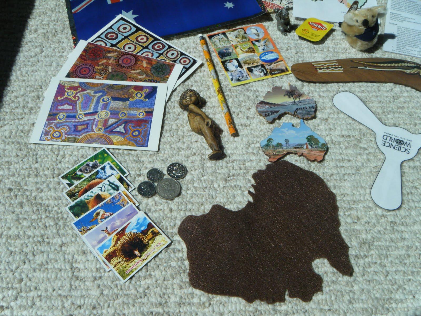 Montessori Beginnings Australia Continent Box And