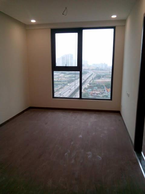 Hình ảnh căn hộ thực tế bàn giao tại Eco green city