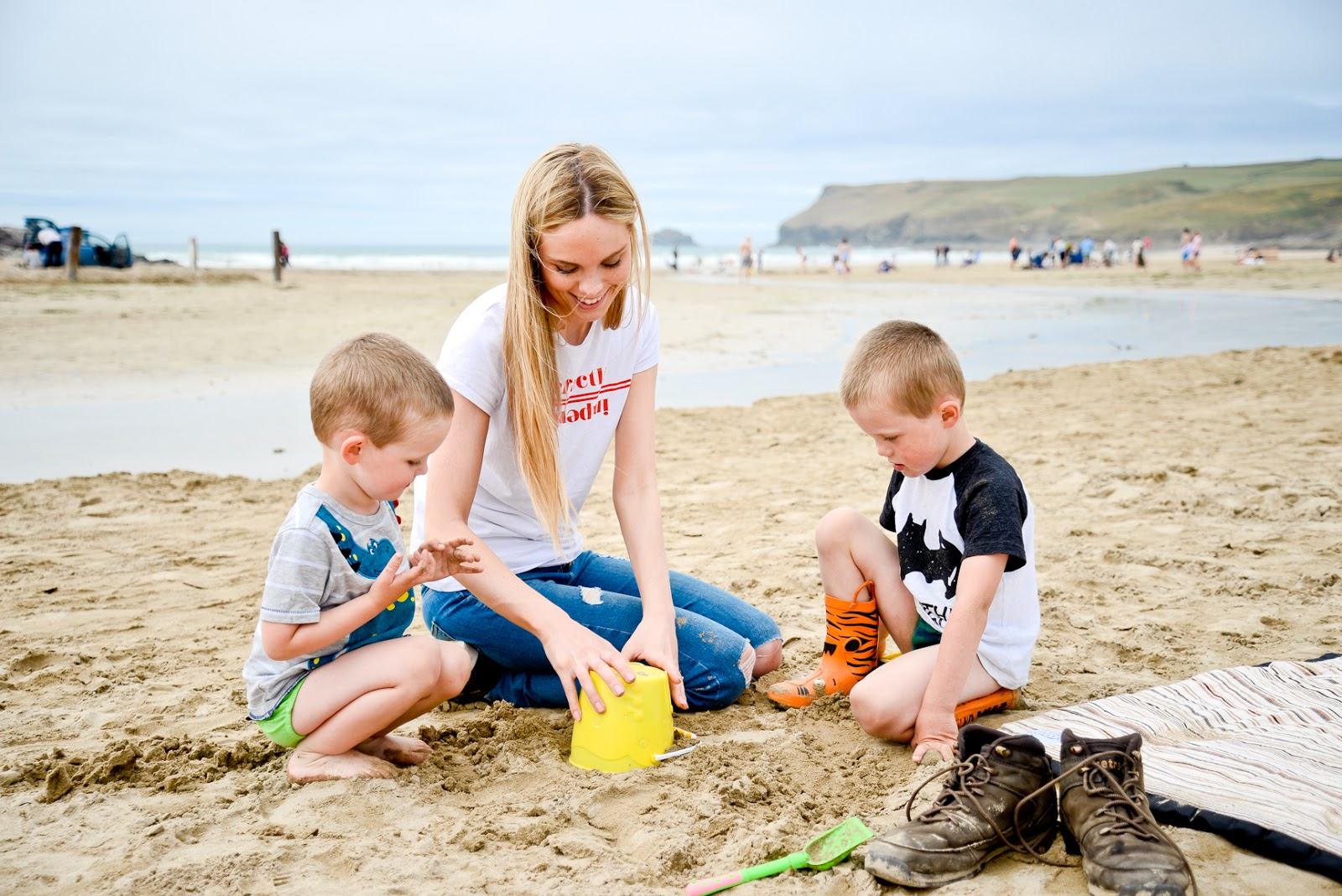 polzeath beach, uk family holidays with kids, cornwall days out with the kids