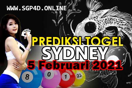 Prediksi Togel Sydney 5 Februari 2021